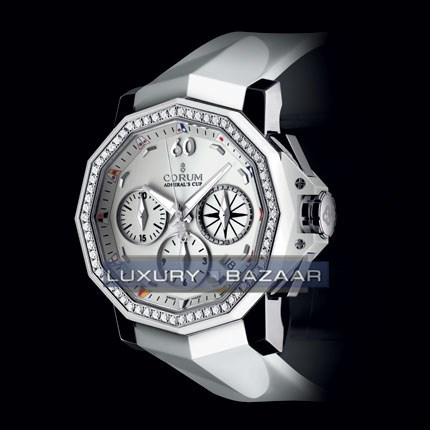 Admirals Cup Chronograph 40 Diamonds 984.970.47/F379 AA12