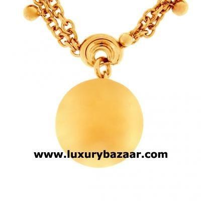Modern 18K Rose Bijoux Collier Boule Collection Necklace