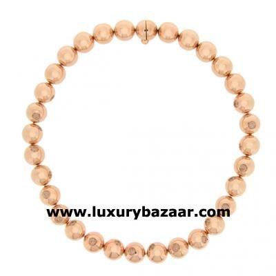Fabulous 18K Pink Gold Bijoux Collier Haute Joaillerie Collection