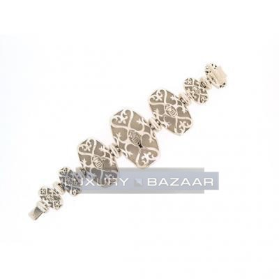 Contemporary 18K White Gold Bijoux Zucchero Bracelet