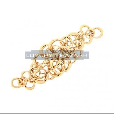 Lovely 18K Rose Gold Bijoux Anelli Collection Bracelet