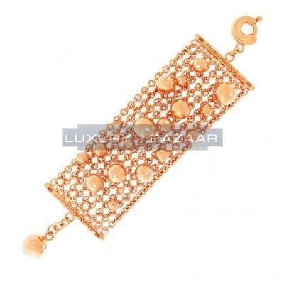 Gorgeous 18K Rose Gold Bijoux Bole Collection Diamond Bracelet