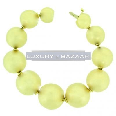 Fabulous 18K Yellow Gold Bijoux Boule Collection Bracelet