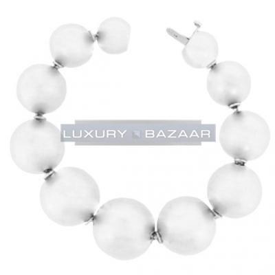 Fabulous 18K White Gold Bijoux Boule Collection Bracelet