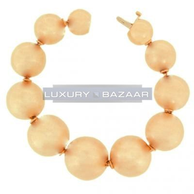 Fabulous 18K Rose Gold Bijoux Boule Collection Bracelet