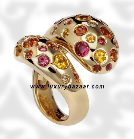 Contrario Sapphire Spinels and Brown Diamond 14