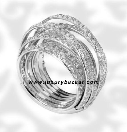 Allegra White Gold Full Diamond Ring