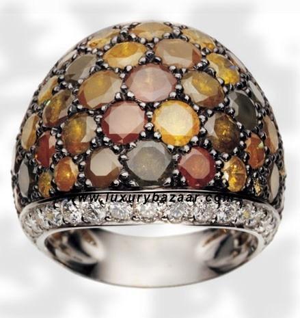 Icy Diamond Autumn Icy Diamond White Gold Ring