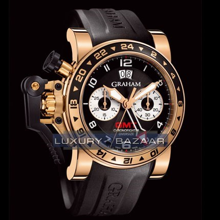 Chronofighter Oversize GMT Big Date (RG / Black)