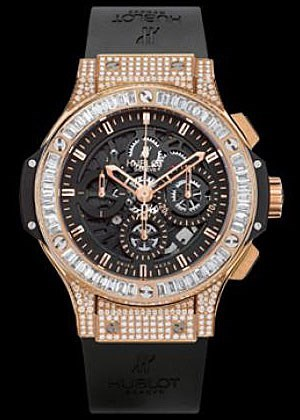 Aero Bang Red Gold Diamonds 310.PX.1180.RX.0904