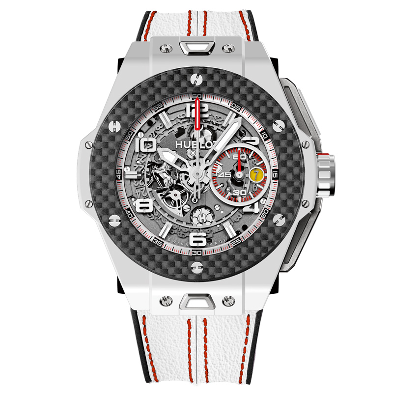 Big Bang Ferrari White Ceramic Carbon 401.HQ.0121.VR