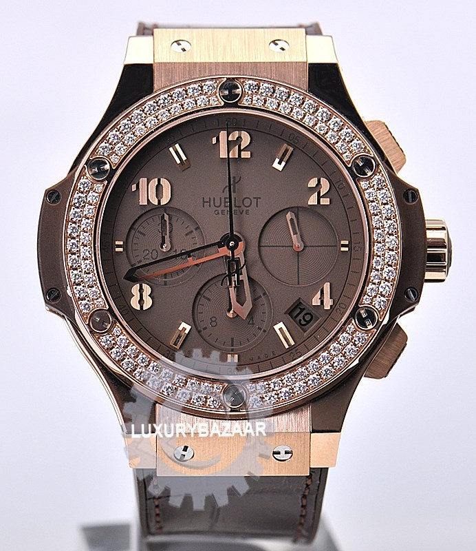 Big Bang Brown Diamonds Gold Tutti Frutti 341.PC.5490.LR.1104