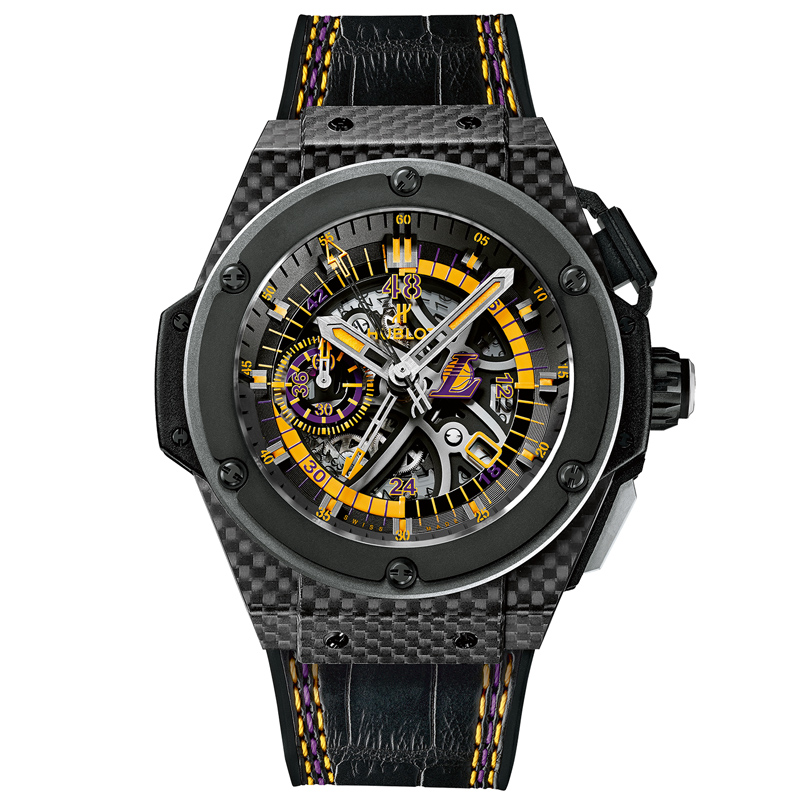 Watches Los Angeles Lakers 748.QX.1199.NR.LAK14 (Carbon)