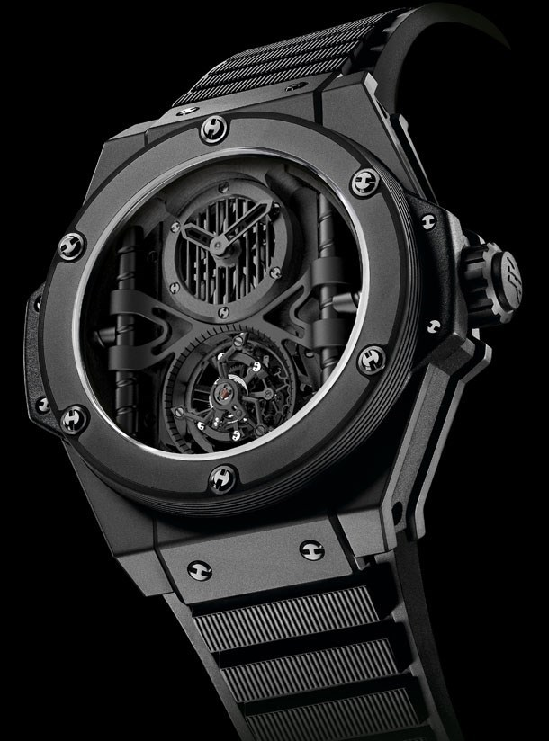 King Power Tourbillon Manufacture (Ceramic)