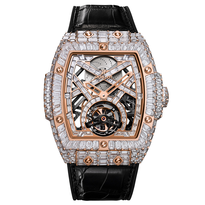 Watches MP-06 High Jewellery Full Baguette 906.OX.9000.LR.9904 (King Gold)