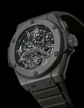King Power All Black Tourbillion 708.CI.0110.RX