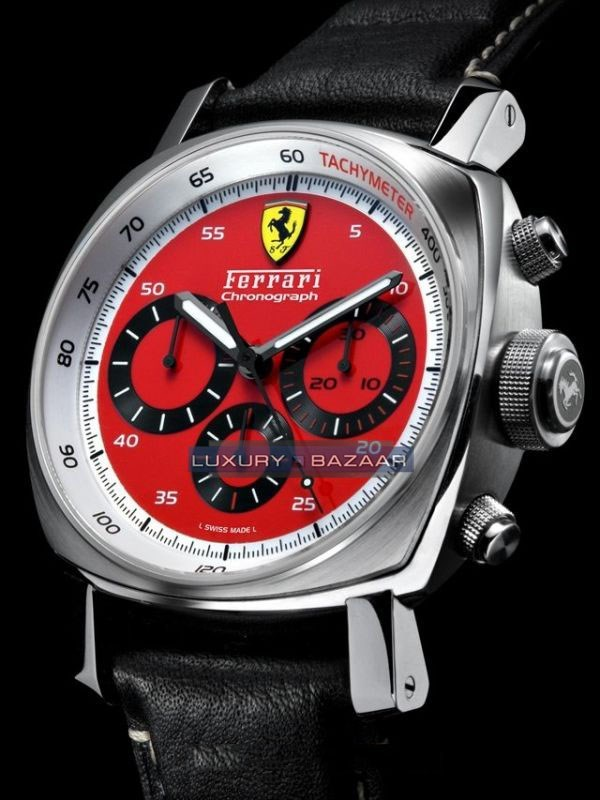 Ferrari Chronograph Red Dial 45mm FER 00028