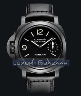 Luminor Marina Left Handed PAM00026 (Black Steel)