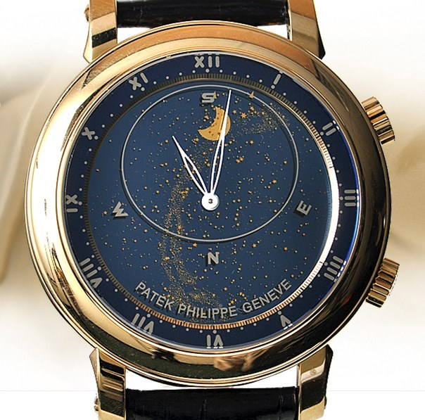 Sky Chart Grand Complication 5102J (YG / Blue / Leather Strap)