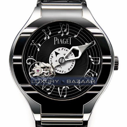 Polo Tourbillon Relatif Music Unique Piece (WG / Black)