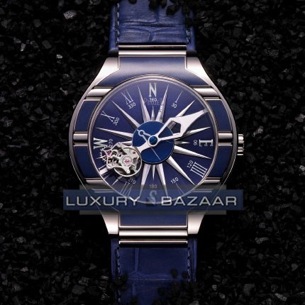 Polo Tourbillon Relatif Blue Compass (WG / Blue)