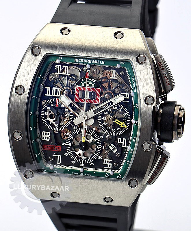 RM 011 Le Mans Classic Titanium