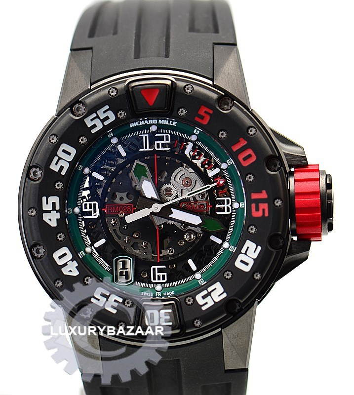 RM 028 Mexico Limited Edition Divers (Titanium)