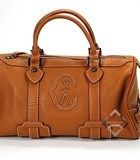 Charriol Escapade VII Camel Speedy Bag