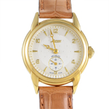 Certified Pre-Owned Lorenz Lady Anniversaire Yellow Gold Quartz Watch 16553AD