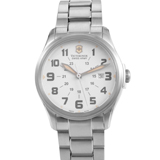 Swiss Army Infantry Vintage Mens Stainless Steel  Quartz Watch 241293