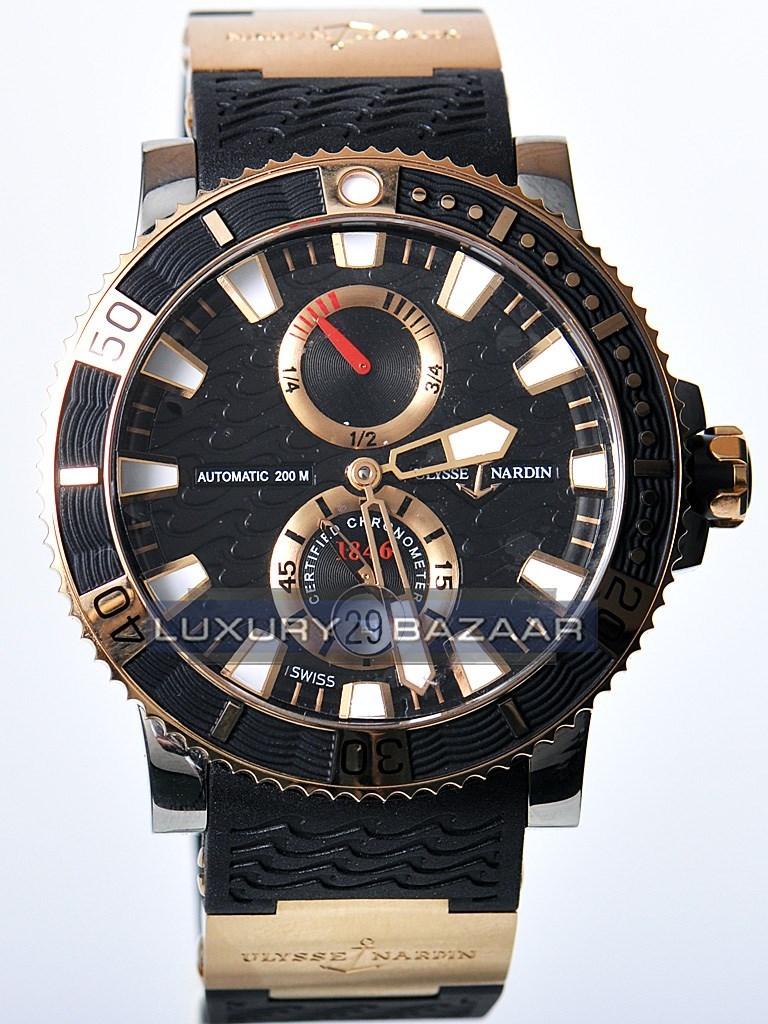 Maxi Marine Diver Chronometer Titanium 45mm 265-90-3/92