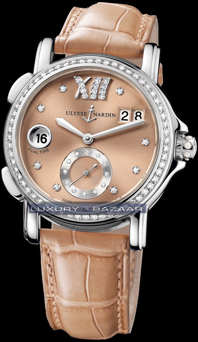 Dual Time Ladies Small Seconds 37mm 243-22B/30-09