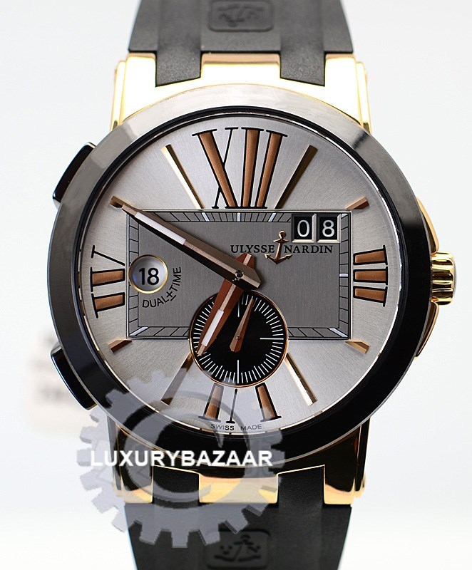 Executive Dual Time 43mm 246-00/421