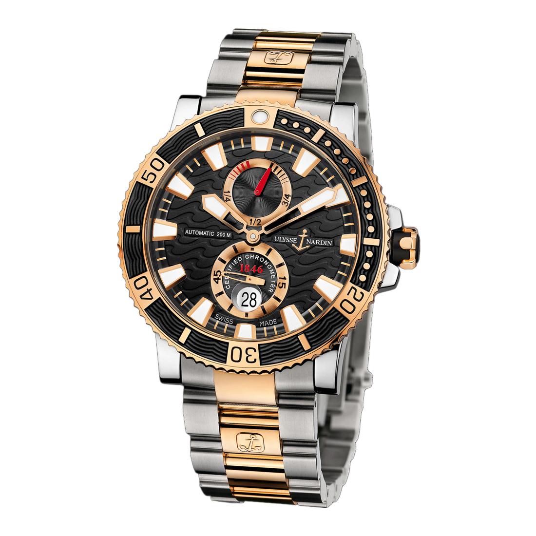 Maxi Marine Diver Chronometer Titanium 45mm 265-90-8/92