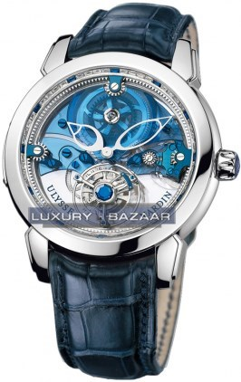 Royal Blue Tourbillon 43mm 799-90