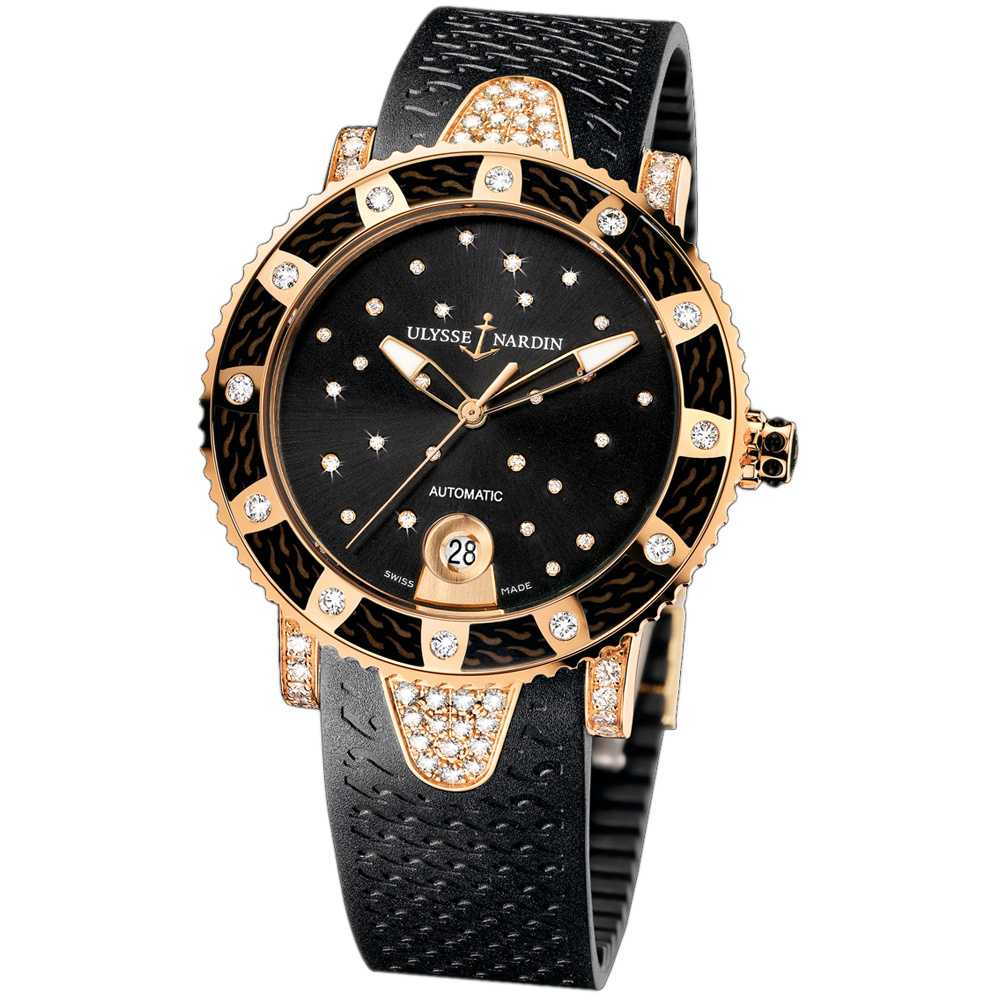 Marine Lady Diver Starry Night 40mm 8106-101EC-3C/22