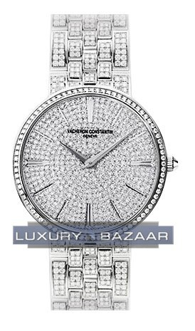 Patrimony Traditionelle Full Pave 81575/V02G-9274