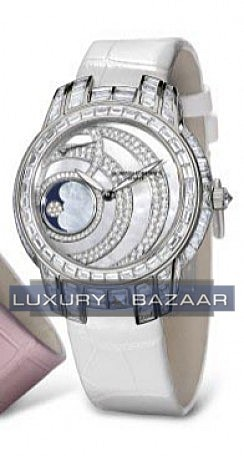 Kalla Ladies Moonphase (WG-Diamonds)