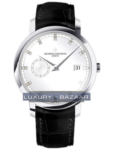 Patrimony Traditionelle Automatic (WG / Silver / Diamonds)